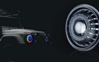 Qeedon K1 7'' headlight for Jeep