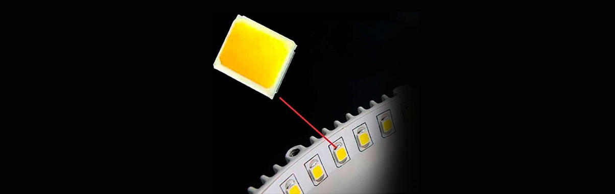 How do the LED headlights generate heat