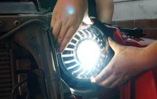 Headlight adjustment