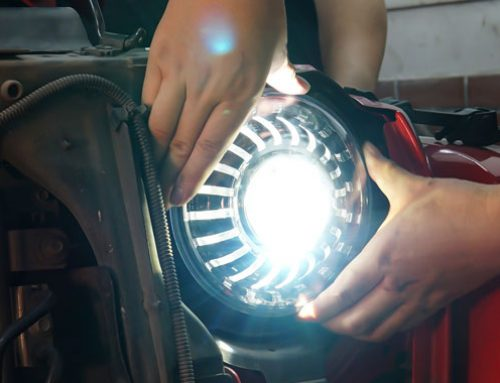 How to align my Jeep Headlight