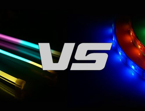 LED neon light VS LED strip light
