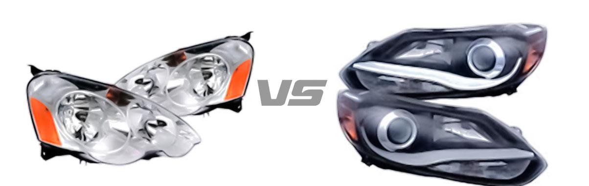Projector Headlight VS Reflector Headlight
