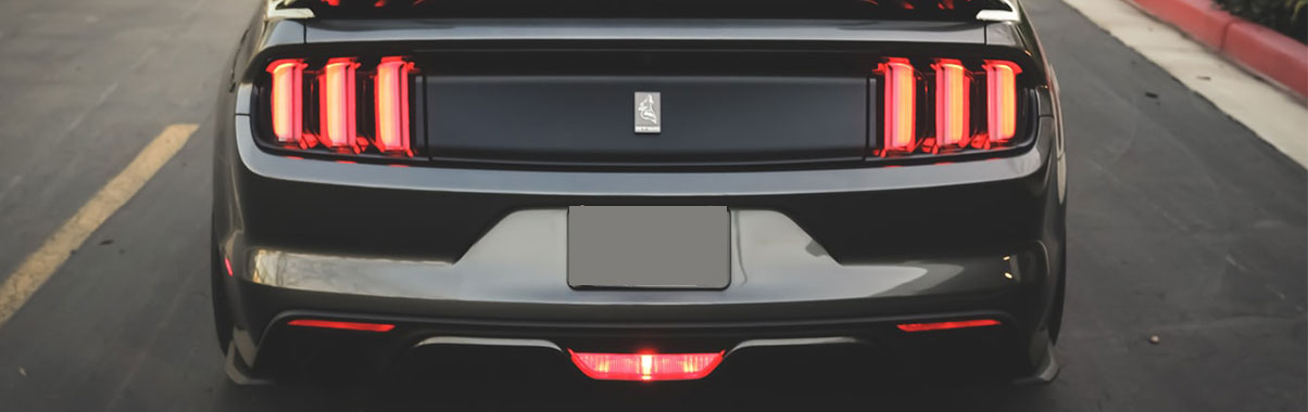 What are the types of exterior car lights (2)