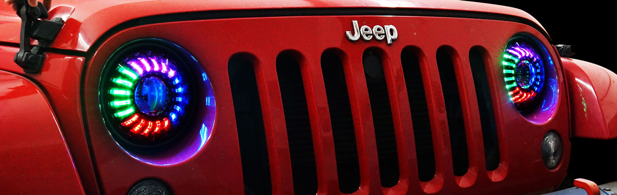 Multi-colored-headlights-for-Jeep